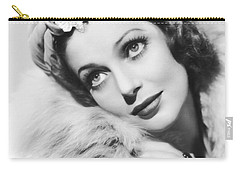 Actress Loretta Young Carry-all Pouch by Underwood Archives