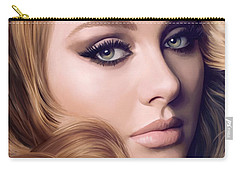 Adele Artwork  Carry-all Pouch by Sheraz A