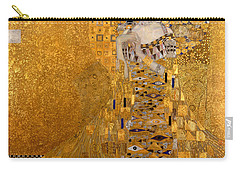 Adele Bloch Bauers Portrait Carry-all Pouch by Gustive Klimt