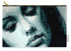 Adele In Watercolor Carry-all Pouch by Laur Iduc