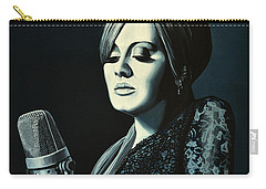 Adele Skyfall Painting Carry-all Pouch by Paul Meijering