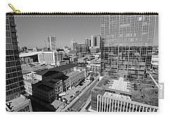 Aerial Photography Downtown Nashville Carry-all Pouch by Dan Sproul