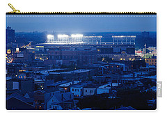 Aerial View Of A City, Wrigley Field Carry-all Pouch by Panoramic Images