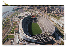 Aerial View Of A Stadium, Soldier Carry-all Pouch by Panoramic Images