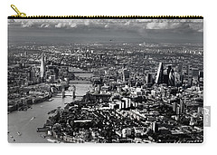 Aerial View Of London 4 Carry-all Pouch by Mark Rogan