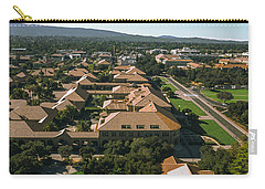 Aerial View Of Stanford University Carry-all Pouch by Panoramic Images