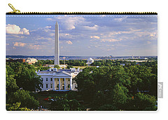 Aerial, White House, Washington Dc Carry-all Pouch by Panoramic Images