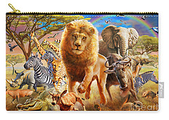 African Stampede Carry-all Pouch by Adrian Chesterman