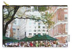 Afternoon At Faneuil Hall Carry-all Pouch by Jeff Kolker