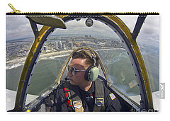 Airman Fliesin A Yakovlev Yak-52 Carry-all Pouch by Stocktrek Images