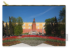 Alexander Garden And Arsenal Walls Carry-all Pouch by Panoramic Images