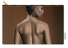 Alicia Keys  Carry-all Pouch by Paul Meijering