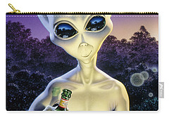 Alien Brew Carry-all Pouch by Steve Read