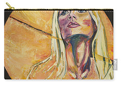 All Yellow Carry-all Pouch by Christel  Roelandt