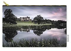 Alnwick Castle Sunset Carry-all Pouch by Dave Bowman