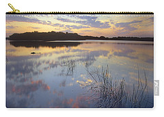 American Alligator Everglades Np Florida Carry-all Pouch by Tim Fitzharris