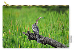 American Anhinga Carry-all Pouch by Al Powell Photography USA