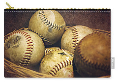 American Pastime  Carry-all Pouch by Heather Applegate