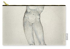 An Angel With A Trumpet Carry-all Pouch by William Blake