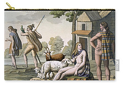 Ancient Gauls, C.1800-18 Carry-all Pouch by Italian School