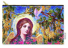 Angel Love Carry-all Pouch by Jane Small