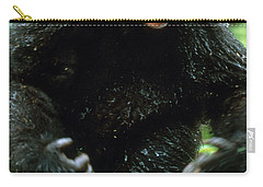 Angry Mountain Gorilla Carry-all Pouch by Art Wolfe