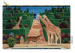 Animal Garden Carry-all Pouch by Anthony Southcombe