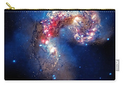 Antennae Galaxies Collide 2 Carry-all Pouch by The  Vault - Jennifer Rondinelli Reilly