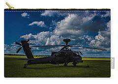 Apache Gun Ship Carry-all Pouch by Martin Newman