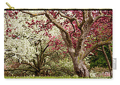 Apple Blossom Colors Carry-all Pouch by Joe Mamer