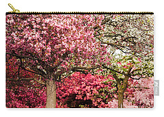 Apple Blossoms Carry-all Pouch by Joe Mamer