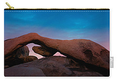 Arch Rock Evening Carry-all Pouch by Stephen Stookey