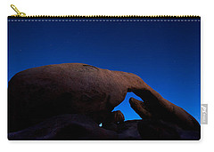 Arch Rock Starry Night Carry-all Pouch by Stephen Stookey