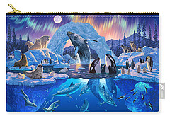 Arctic Harmony Carry-all Pouch by Chris Heitt