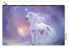 Astral Unicorn Carry-all Pouch by Steve Read