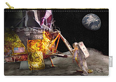 Astronaut - One Small Step Carry-all Pouch by Mike Savad