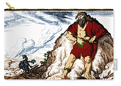 Atlas And Perseus, Greek Mythology Carry-all Pouch by Photo Researchers