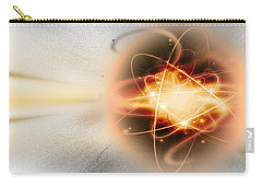 Atom Collision Carry-all Pouch by Panoramic Images