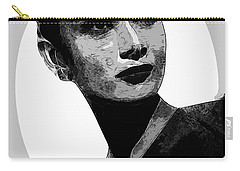 Audrey Hepburn - Pencil Carry-all Pouch by Doc Braham
