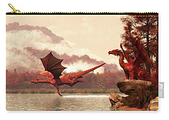 Autumn Dragons Carry-all Pouch by Daniel Eskridge