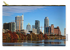 Autumn In Austin Carry-all Pouch by Judy Vincent