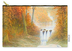 Autumn Morning Carry-all Pouch by Andrew Farley
