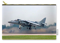 Av-8b Harrier Carry-all Pouch by Adam Romanowicz