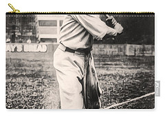 Babe Ruth Carry-all Pouch by Digital Reproductions