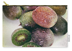 Baby Kiwi Distressed Carry-all Pouch by Iris Richardson