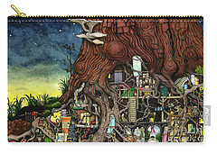 Back To Your Roots Carry-all Pouch by Colin Thompson
