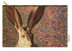 Background Noise Carry-all Pouch by James W Johnson