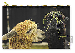 Bad Hair Day Farm Show Harrisburg Pa Carry-all Pouch by Terry DeLuco