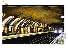 Baker Street London Underground Carry-all Pouch by Mark Rogan