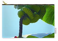 Banana Stalk Carry-all Pouch by Carey Chen